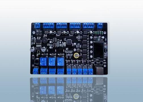 sl-7021门禁控制器系列的电路规划,元件布置,线路安排都按照